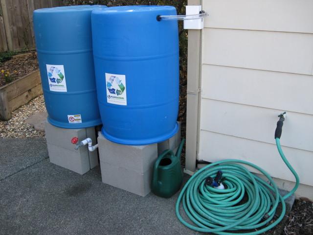 Rain Barrels For Your Landscape